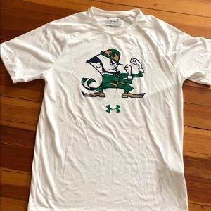 Under Armour Notre Dame shirt